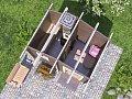Мини-баня 3 x 2 «Малютка» от компании «ТопсХаус» - Мини-бани в Москве на заказ