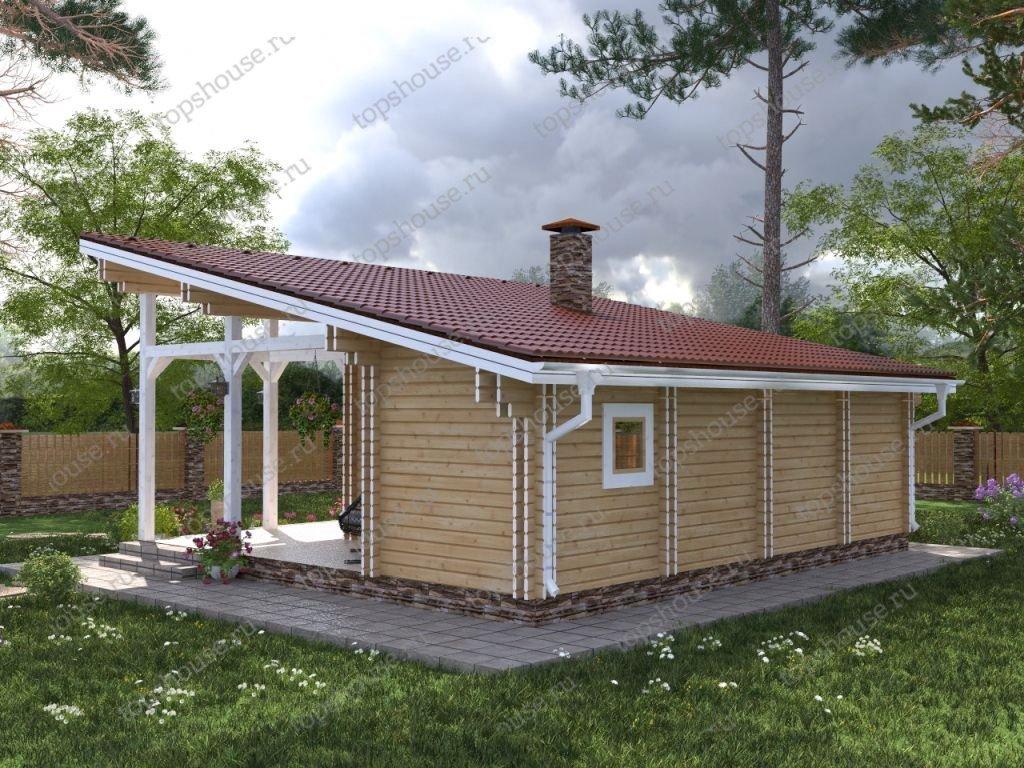 Дачный дом «Свежая идея»