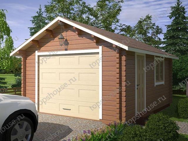 Гараж из бруса цена под ключ купить гараж в кировграде